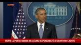 23/04/2015 - Obama: ucciso ostaggi di Al Qaeda Lo Porto e Weinstein