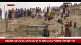 23/04/2015 - Obama: uccisi ostaggi di Al Qaeda Lo Porto e Weinstein