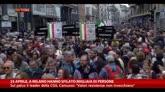26/04/2015 - 25 aprile, a Milano hanno sfilato migliaia di persone