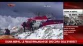 Sisma Nepal, prime immagini dei soccorsi sull'Everest