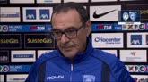 """26/04/2015 - Denis, pugno a Tonelli. Sarri: """"Roba da Daspo"""""""