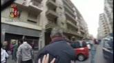 27/04/2015 - L'aggressione al bus della Juve vista dalla strada