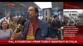 Nepal, a Fiumicino i primi turisti rientrati in Italia