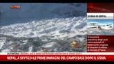 Nepal, prime immagini campo base dopo il sisma