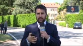Berlusconi lascia Arcore, l'incontro si terrà a Milano