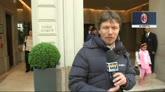Berlusconi verso Milano: ma in macchina, non in elicottero