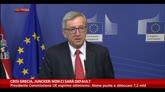 Crisi Grecia, Juncker: non ci sarà default