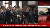Scontri Milano, Alfano ad Agenti: grazie, evitato il peggio