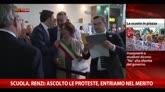 Scuola, Renzi: ascolto le proteste, entriamo nel merito