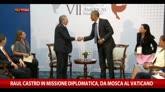 09/05/2015 - Raul Castro in missione diplomatica, da Mosca al Vaticano