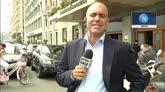 16/05/2015 - De Laurentiis non molla, Napoli a pranzo con il presidente
