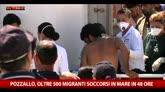 21/05/2015 - Altri 300 migranti soccorsi in mare e sbarcati a Pozzallo