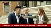 21/05/2015 - Unioni civili, a Roma il celebration day