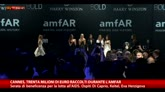 Cannes, lotta all'Aids con le star alla serata dell'Amfar