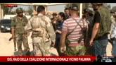 Isis, raid della coalizione internazionale vicino Palmira
