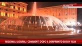 Elezioni regionali Liguria, i commenti dopo il confronto