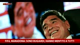 """Scandalo Fifa, Maradona: """"Bugiardi, hanno mentito tutti"""""""
