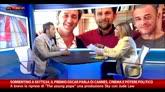 Sorrentino a SkyTG24 parla di cinema e potere politico