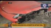 17/06/2015 - Troppo alcol per Vidal, schianto con la Ferrari: arrestato