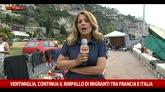 20/06/2015 - Ventimiglia, migranti ancora sugli scogli