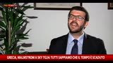 22/06/2015 - Grecia, Malmstrom a Sky TG24: Spero si trovi una soluzione