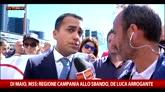 """Campania, Di Maio a Sky TG24: """"Bisogna tornare a votare"""""""