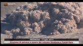 Eruzione vulcanica in Indonesia