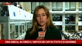 12/07/2015 - Grecia, i capi di Stato e di governo cercano accordo