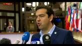 """13/07/2015 - Tsipras: """"Abbiamo ottenuto allegerimento del debito"""""""