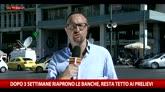 Grecia: riaprono le banche, aumenta l'Iva
