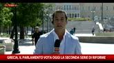 Grecia, il Parlamento vota oggi la seconda serie di riforme