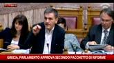 Grecia, Parlamento approva il secondo pacchetto di riforme