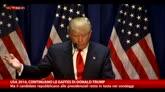 Usa 2016, Trump: ancora gaffe, ma resta in testa ai sondaggi