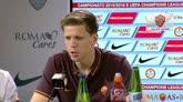"""30/07/2015 - Szczesny: """"Sono entusiasta della Roma e di Roma"""""""