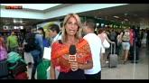 31/07/2015 - Fiumicino, il traffico aereo è tornato alla normalità