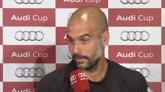 """Guardiola ad un giornalista: """"Criticare è il tuo mestiere"""""""