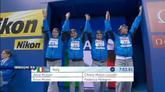 Immensa Pellegrini, Italia staffetta d'argento nella 4x200