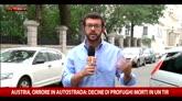 Austria, oltre 70 i migranti morti nel camion