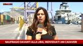 Migranti, affondati due barconi al largo della Libia