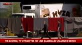 Migranti morti nel tir in Austria, tra le vittime 4 bambini