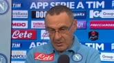 """31/08/2015 - Sarri: """"Tifosi straordinari, sono arrabbiati, non delusi"""""""