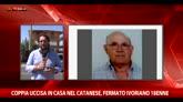 31/08/2015 - Coppia uccisa in casa nel Catanese, fermato ivoriano 18enne