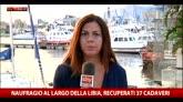 31/08/2015 - Naufragio al largo della Libia, recuperati 37 cadaveri