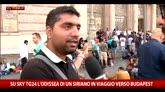 Su SkyTG24 l'odissea di un siriano in viaggio verso Budapest