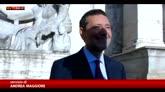 Roma, il rientro di Marino alle prese con il Giubileo