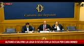 Alfano a Salvini: Lega si scusi con Sicilia per Cara Mineo
