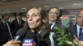 14/09/2015 - Roberta Vinci torna in Italia, l'emozione dopo gli Us Open