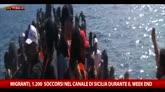 28/09/2015 - Week-end di soccorsi nel canale di Sicilia