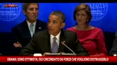 29/09/2015 - Obama: Isis circondato da forze che vogliono distruggerlo