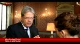 Gentiloni a Sky TG24: noi leader anti-Is anche senza Tornado